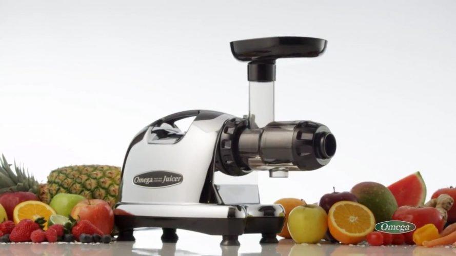 Omega 8006 Nutrition System Masticating Juicer