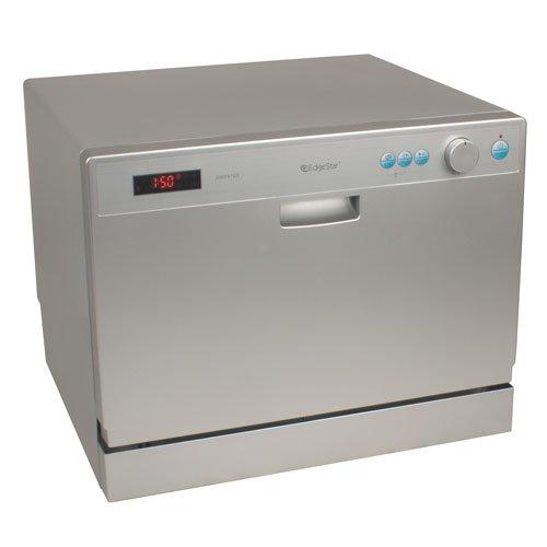 EdgeStar 6 Place Setting Countertop Portable Dishwasher