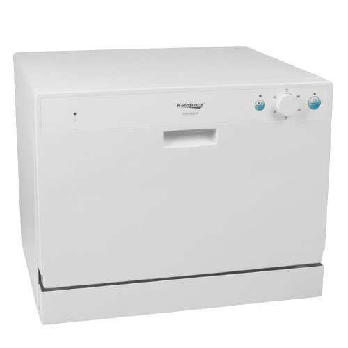 Koldfront 6 Place Setting Portable Countertop Dishwasher