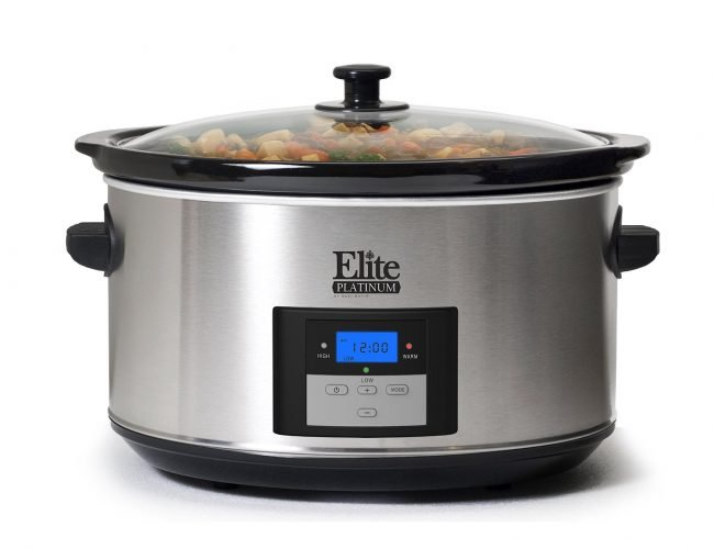 Elite Platinum MST-900D Maxi-Matic 8.5 Quart Digital Slow Cooker