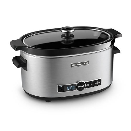 KitchenAid KSC6223SS 6-Quart Slow Cooker with Standard Lid