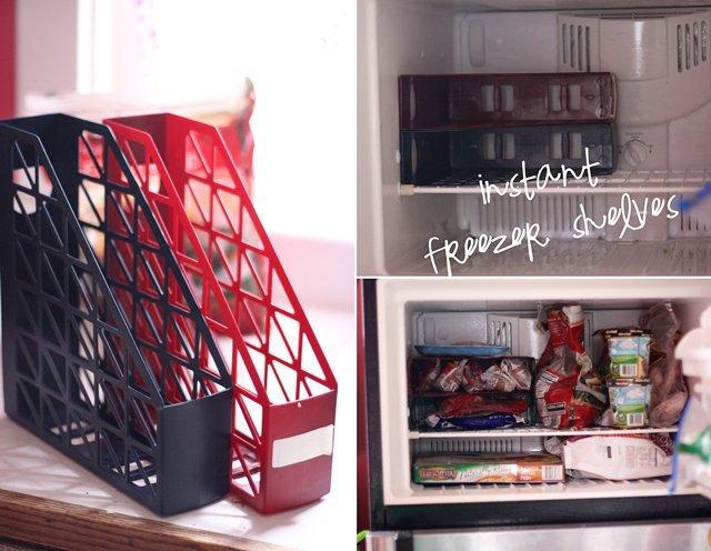 Magazine Freezer Shelf