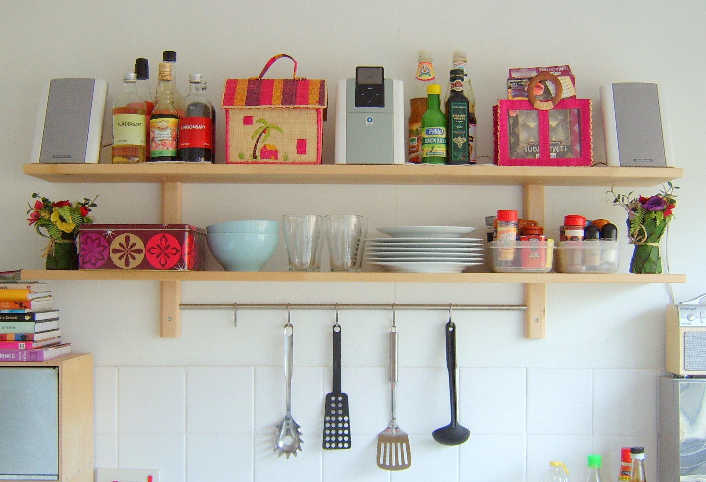 Small Kitchen Shelf