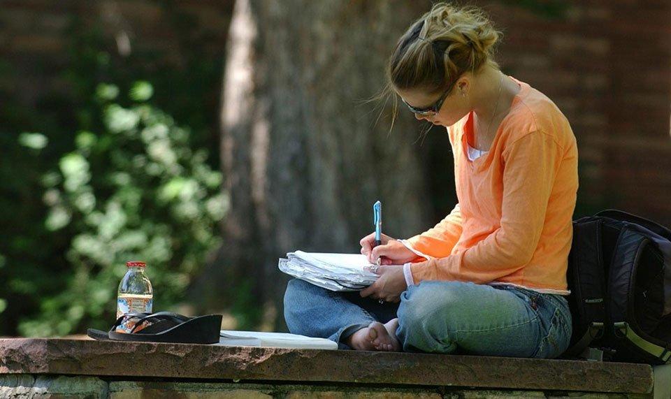 study-outside