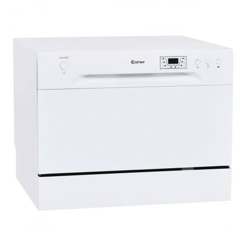 Costway Countertop Dishwasher Stainless Steel 6 Place Setting