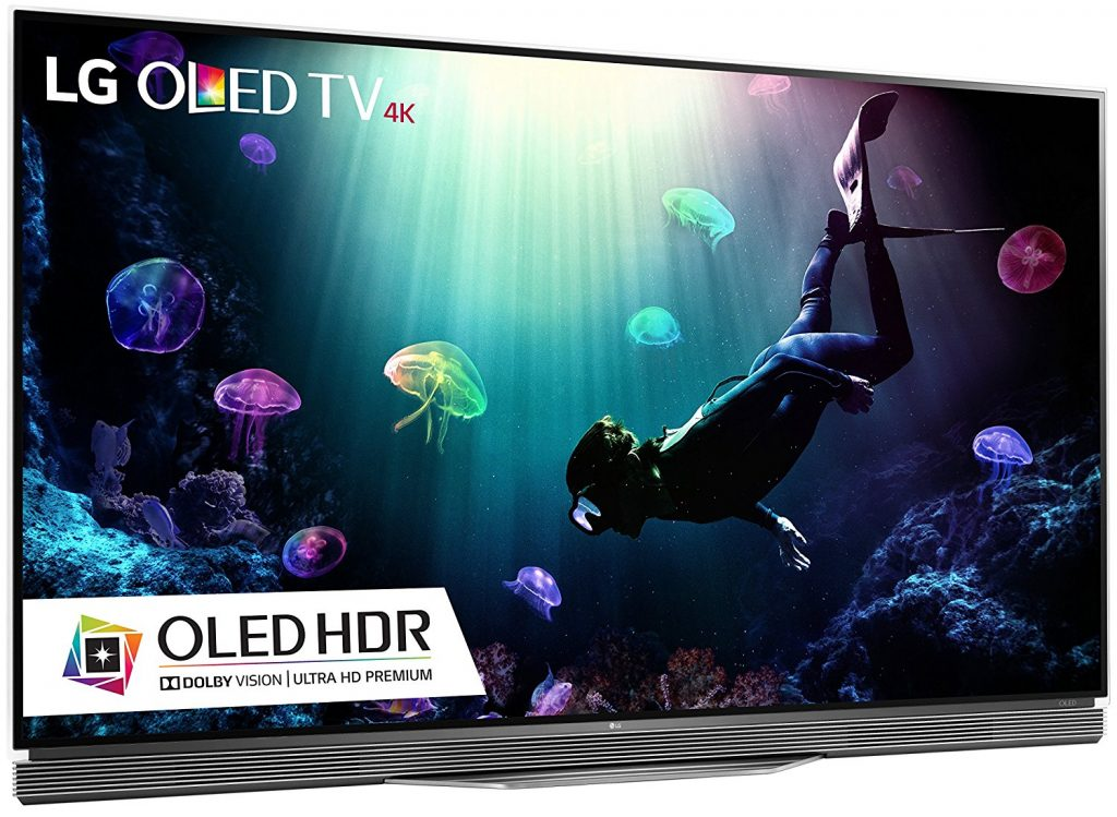 LG Electronics OLED65E6P - 65-Inch 4K Ultra HD Smart OLED TV