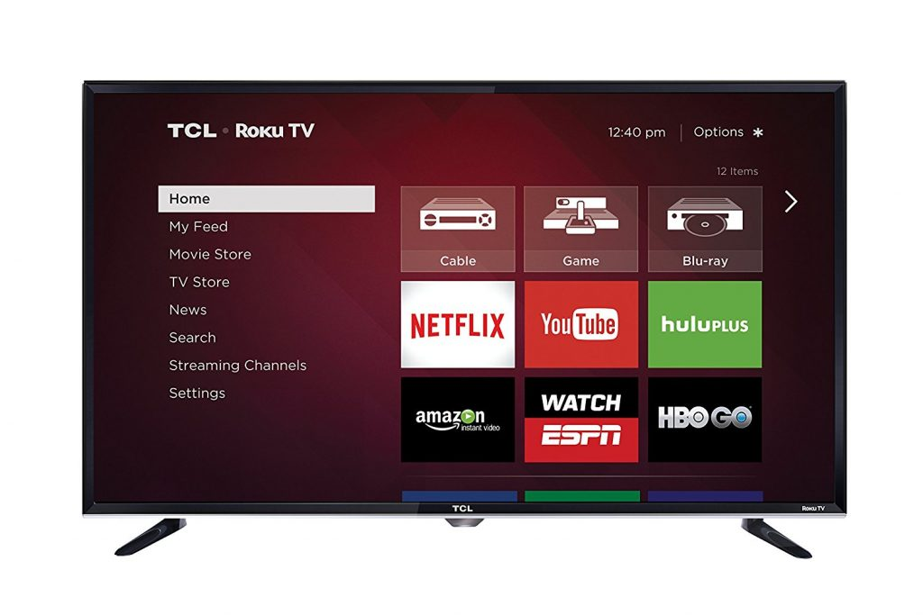 TCL - 32-Inch 720p Roku Smart LED TV