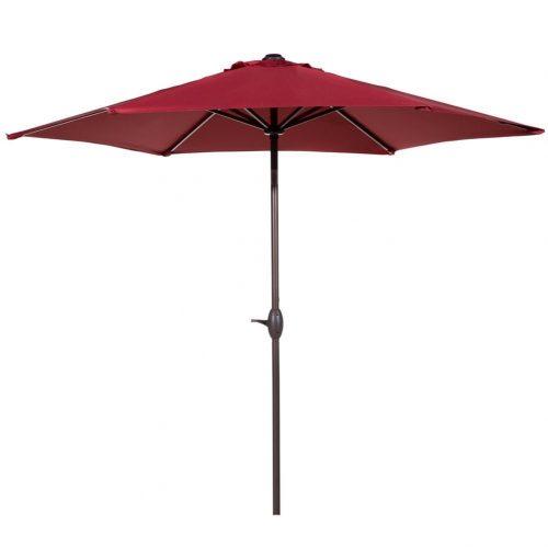Abba Patio 9 ft Market Outdoor Aluminum Table Patio Umbrella