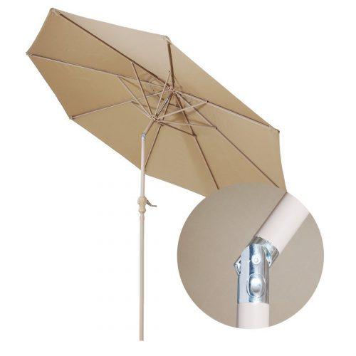 Balichun 9 Ft Aluminum Patio Umbrella Outdoor Table Umbrella