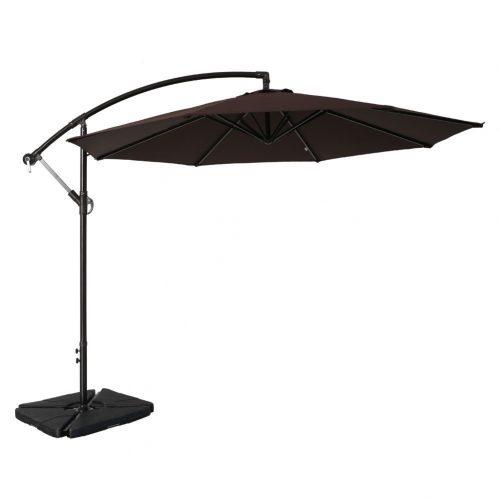 Sumbel Outdoor Living 10 Ft Aluminum Offset Patio Umbrella