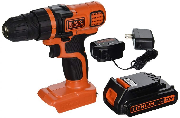 BLACK+DECKER LDX120C 20V MAX Lithium-Ion Drill