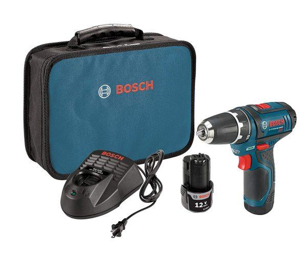Bosch 12-Volt Max 3/8-Inch 2-Speed Drill/Driver Kit