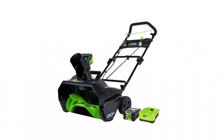Greenworks PRO 20-Inch 80V Cordless Snow Thrower