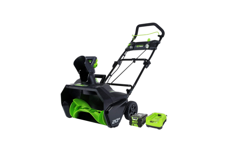 Greenworks PRO 20-Inch 80V Cordless Snow Thrower