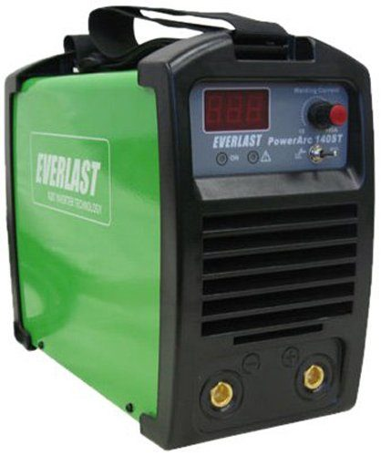 EVERLAST PowerARC 140 140amp Lift Start TIG / Stick IGBT Welder