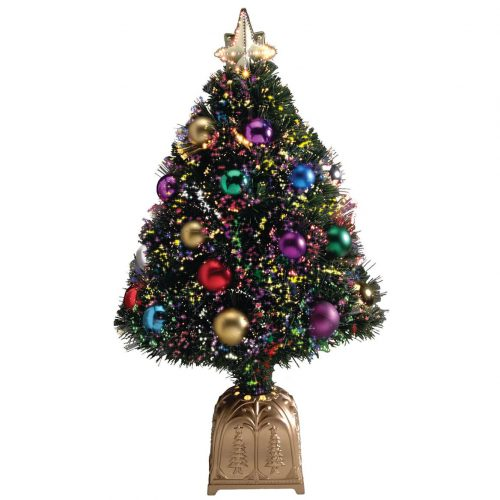 Northwoods GreeneryTM Fiber Optic Christmas Tree