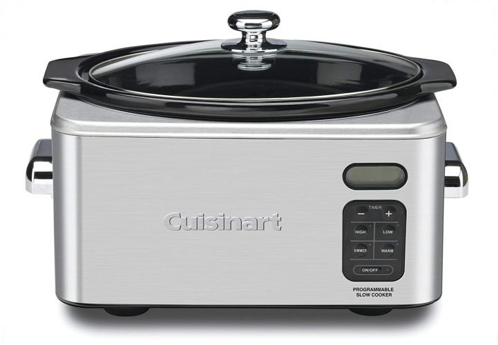 Cuisinart PSC-650 Stainless Steel 6.5 Quart Programmable Slow Cooker