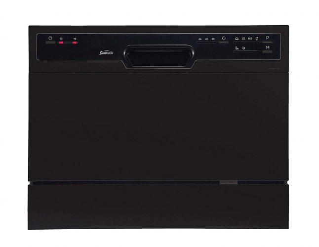 Sunbeam DWSB3607BB Portable Countertop Dishwasher