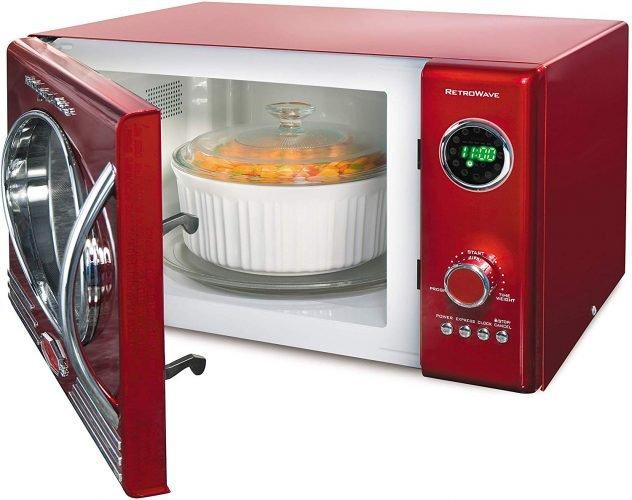 Nostalgia RMO4rr Retro Large Countertop Microwave
