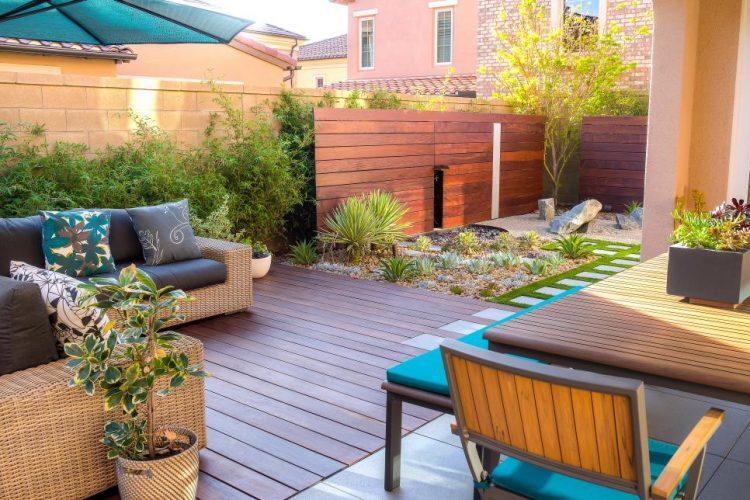 Low Maintenance Garden Deck