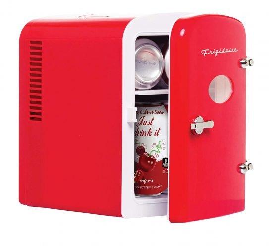 Frigidaire Retro Mini Compact Beverage Fridge