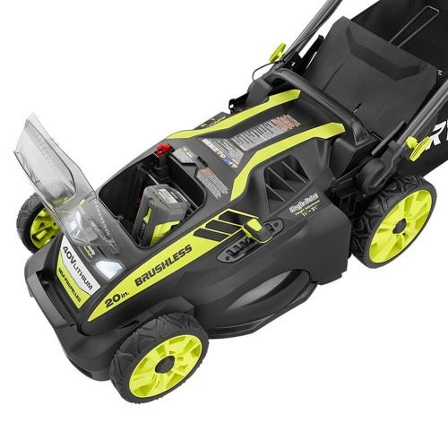 Ryobi Cordless Electric Lawn Mower Capabilities