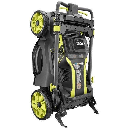 Ryobi Cordless Electric Lawn Mower Fold