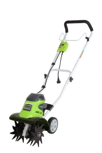 GreenWorks 27072 - 10-Inch 8-Amp Corded Electric Tiller