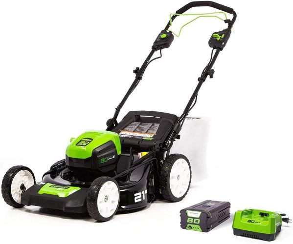 Greenworks Pro 80V 21-Inch Brushless Self-Propelled Lawn Mower
