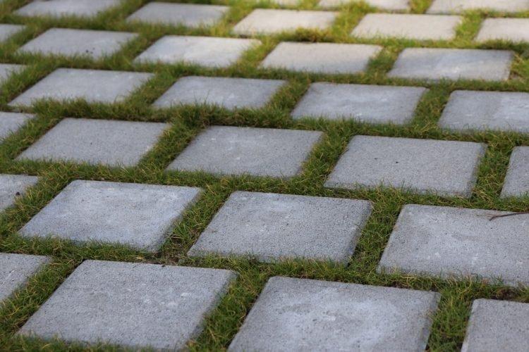 Garden paving