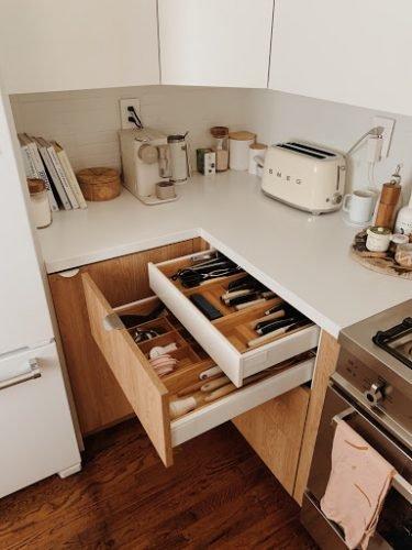Hidden Drawer Kitchen