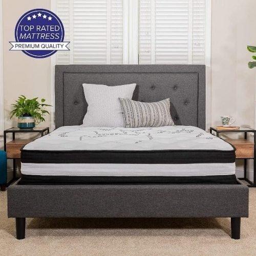 Flash Furniture Capri Comfortable Sleep 12 Inch Mattress