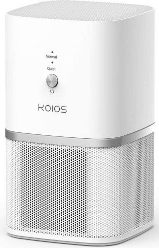 KOIOS Air Purifier, Desktop Air Filtration with True HEPA Filter