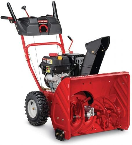 Troy-Bilt Two-Stage 208cc Electric Start Self Propelled Gas Snow Blower
