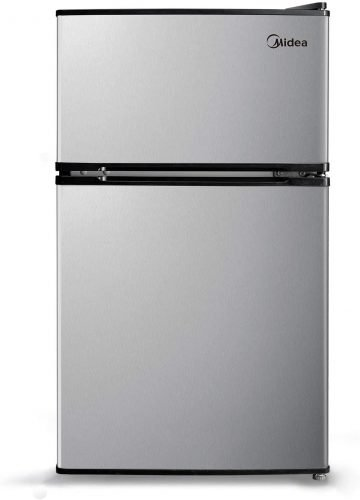 Midea WHD-113FSS1 3.1 Cu.Ft. Compact Refrigerator