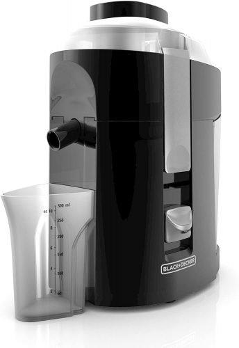 BLACK+DECKER 400-Watt Fruit and Vegetable Juice Extractor
